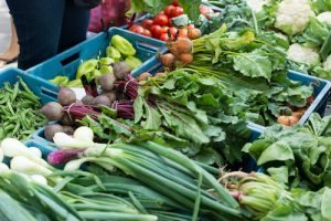 Mix of vegetables at farmers market