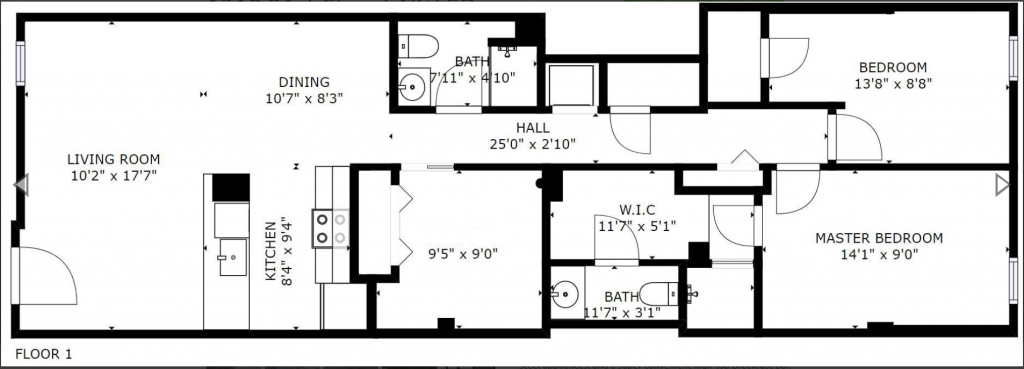 1319 floor plan