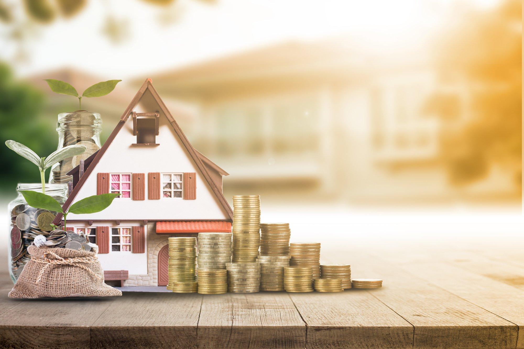 Mortgage loading real estate property