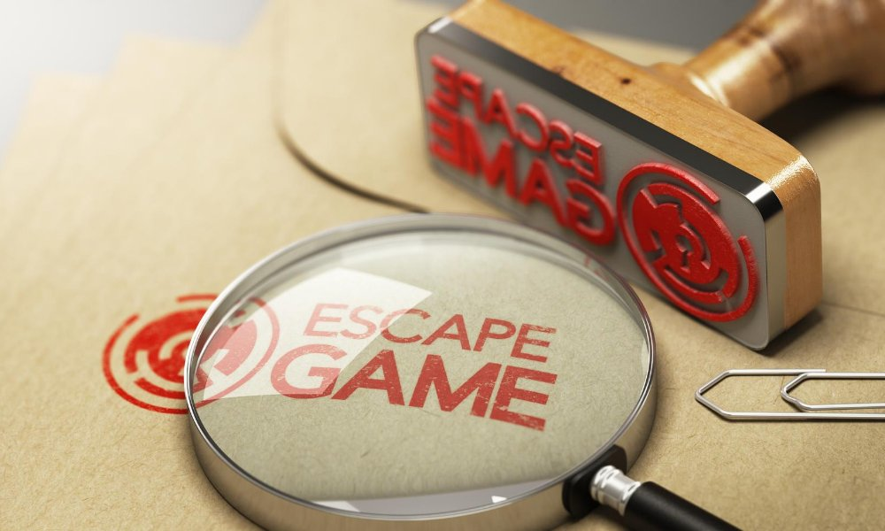 Image of stamp stamping escape game