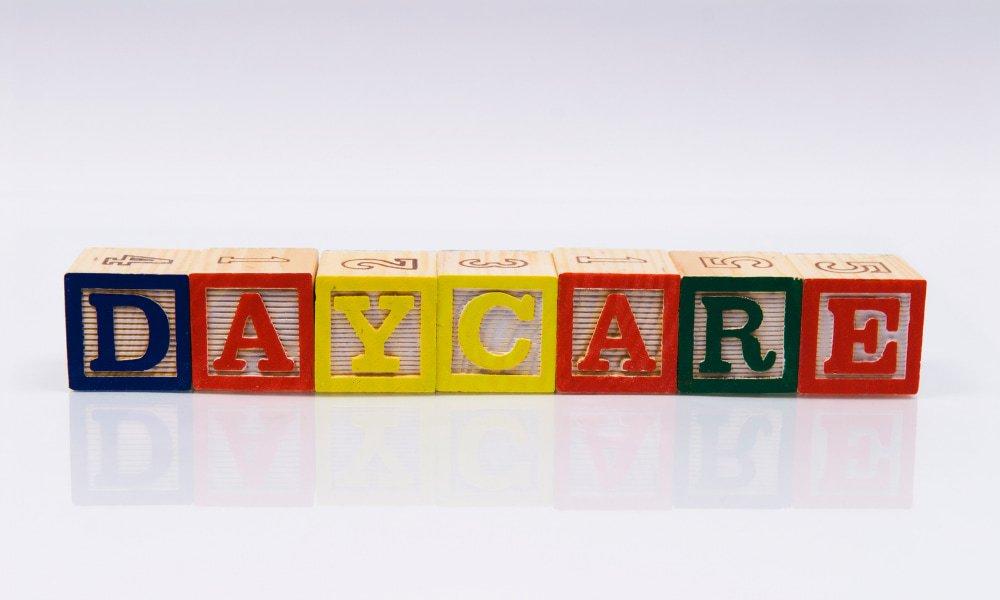Daycare in the child blocks