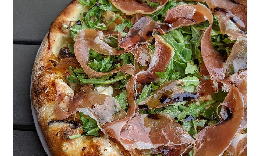 pizza from alatri bros pizza in Bethesda