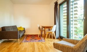 furniture in a micro apartment