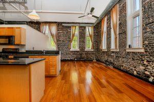 Wooden Kitchen view